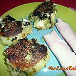recette Galettes pomme de terre, féta et poivron (Weight Watchers ProPoints)