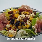 recette salade de tomates séchées