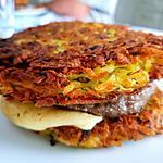 recette Burger Rösti  à la raclette