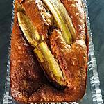 recette Banana bread aux pépites de chocolat et noix de pécan