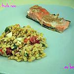 recette Pavé de truite rose au barbecue