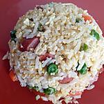 recette Le riz frit aux œufs à la coréenne