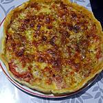 recette tarte tomate mozzarella