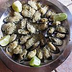 recette Moules gratinées à l'ail et au persil