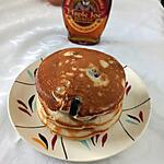 recette Pancakes à la myrtille