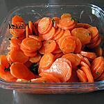 recette Salade de carottes en rondelles