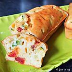 recette Cake chorizo courgette