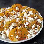 recette Salade de tomates jaunes à la feta