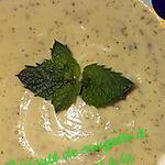 recette Velouté de cougette à la menthe et à la tomme de Savoie