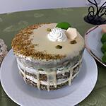 recette Layer cake à la pistache