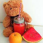 recette Jus orange-pastèque