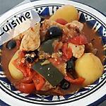 recette Poulet pomme de terre façon provençale