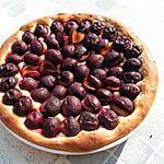 recette Tarte aux prunes pâte briochée