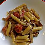 recette penne toscane au jambon fumé italien