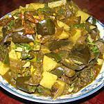 recette Bangon Aloo (Pommes de terre et aubergines à l'indienne)