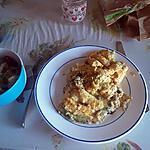 recette Omelette au bleue d'Auvergne