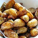 recette Pommes de terre a l ail et au romarin
