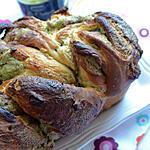 recette Brioche à la pistache