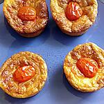 recette petit flan crabe chorizo