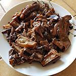 recette Aubergines sautées à la chinoise