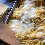 recette Lasagne courgettes fromage de chèvre
