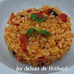 recette risotto à la tomate