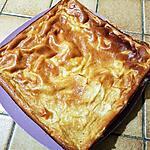 recette Gâteau léger au fromage blanc et aux pommes