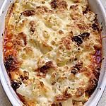 recette gratin choux fleur feta chorizo