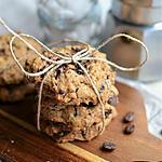 recette Cookies chocolat amandes café