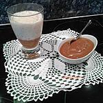 recette Riz au lait sur le lit de caramel à la fleur de sel
