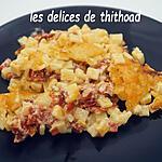 recette gratin de crozets au chorizo et beaufort