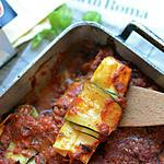 recette Cannelloni courgettes ricotta