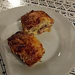 recette Clafouti de haricots verts et lardons