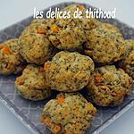 recette cookies salés à la patate douce et au thym