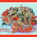recette CUISSES DE GRENOUILLES A LA PROVENCALE