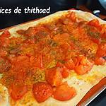 recette pizza façon Algérienne