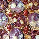 recette pizza pate filo chorizo pancetta