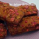 recette mini cakes aux pralines roses