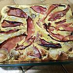 """recette Gâteau d""""endives aux champignons et au jambon"""
