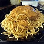 recette pauvres spaghettis au roqufort