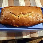 recette Cake aux pommes et au Saint Moret