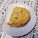 recette Flan de polenta à la ricotta, courgettes et chèvre
