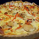 recette tarte aux noix de saint jacques