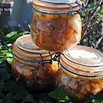 recette Conserves de jarret de porc et joue de boeuf en gelée .