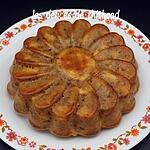 recette Gâteau aux pommes et spéculoos
