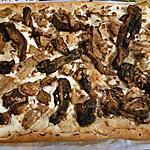 recette Pizza aux cèpes et à la ricotta