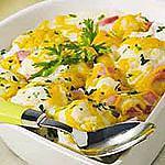 recette Gratin de chou-fleur aux saveurs de muscade