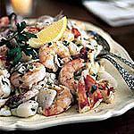 recette Salade de fruits et de crevettes