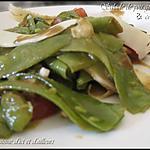 recette Salade de pois gourmands au comté