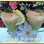 recette VERRINES JAPONAISES